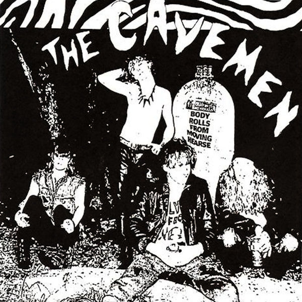 The Cavemen- S/T LP ~BLOOD RED REISSUE WITH TWO BONUS TRACKS!