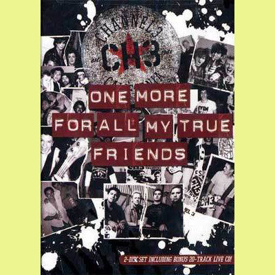 CHANNEL 3- 'One More For All My True Friends' CD/DVD SET - TKO - Dead Beat Records