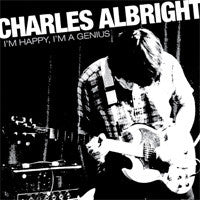 "Charles Albright- I'm Happy, I'm A Genius 7"" - PERMANENT - Dead Beat Records"