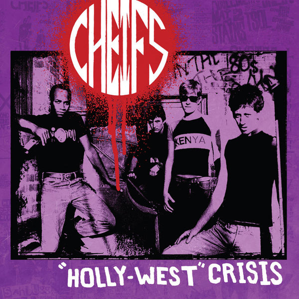 Cheifs- Holly-West Crisis LP ~REISSUE! - Dr Strange - Dead Beat Records