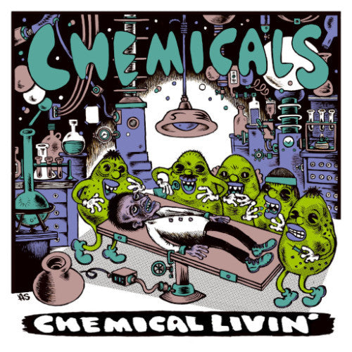 Chemicals- Chemical Livin' LP ~KILLER! - Taken By Surprise - Dead Beat Records