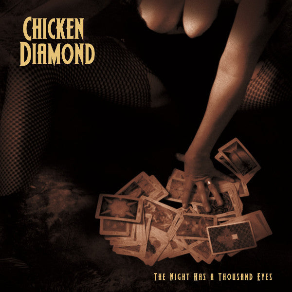 Chicken Diamond- The Night Has A Thousand Eyes LP - Beast - Dead Beat Records
