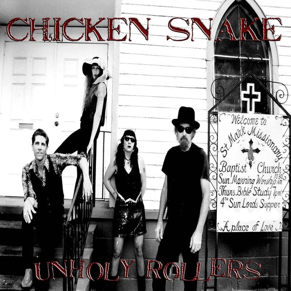 Chicken Snake- Unholy Rollers LP ~EX BOSS HOG! - Beast - Dead Beat Records