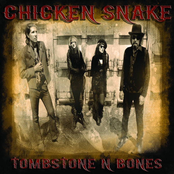 Chicken Snake- Tombstone N Bones LP ~EX BOSS HOG!