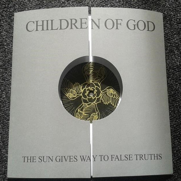 "Children Of God- Sun Gives Way To False Truths 10"" ~SCREENED B-SIDE! - Vendetta - Dead Beat Records - 1"