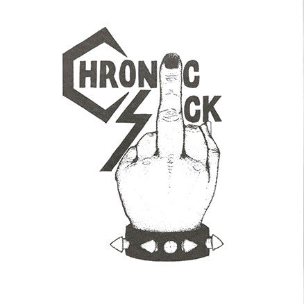 "Chronic Sick- S/T 7"" - No Way - Dead Beat Records"