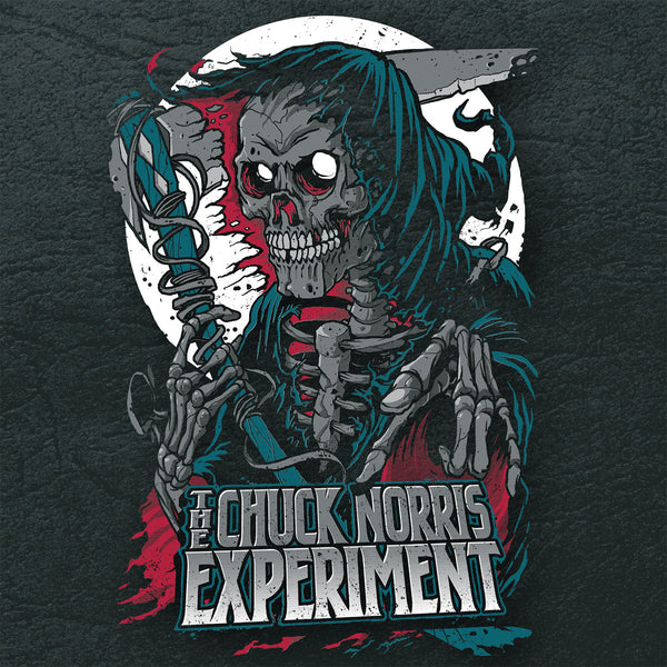 "Chuck Norris Experiment- Black Leather 7"" ~GHOST HIGHWAY RECORDINGS!"
