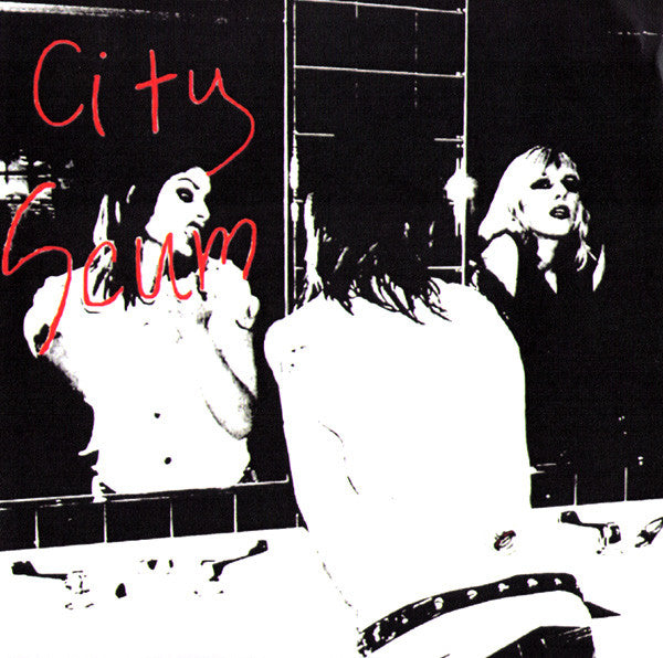 "City Scum- S/T 7"" - Rich Bitch - Dead Beat Records"