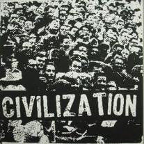 Civilization- S/T LP ~HAND SCREENED COVERS! - Deadtank - Dead Beat Records