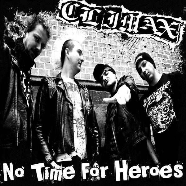 "Climax- No Time For Heroes 7"" ~VARUKERS! - Pogohai - Dead Beat Records"