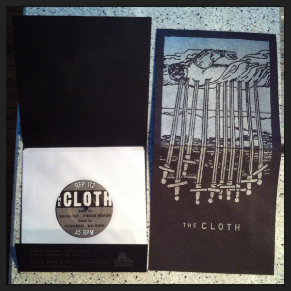 "The Cloth- S/T 7"" ~LTD TO 200 ON WHITE WAX! - Reptilian - Dead Beat Records - 1"