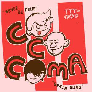 "COCOCOMA/HIPSHAKES- 'Split' 7"" - Tic Tac Totally - Dead Beat Records"