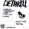 "Colour Bük- Dethkill 7"" ~LTD TO 100 NUMBERED COPIES!"