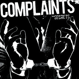 "Complaints- Secrets 7"" - NO FRONT TEETH - Dead Beat Records"