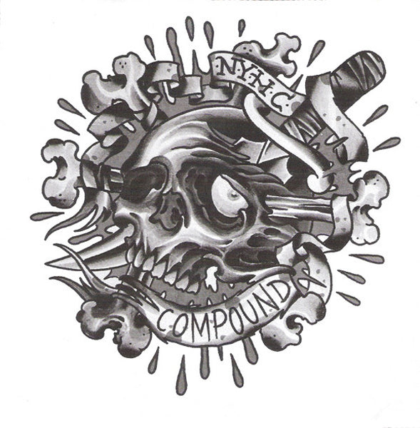 "Compound- The Inaugural Demo  7"" ~288 PRESSED ON BLUE WAX! - State Of Mind - Dead Beat Records"