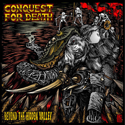 CONQUEST FOR DEATH- 'Beyond The Hidden Valley' CD - Give And Take - Dead Beat Records