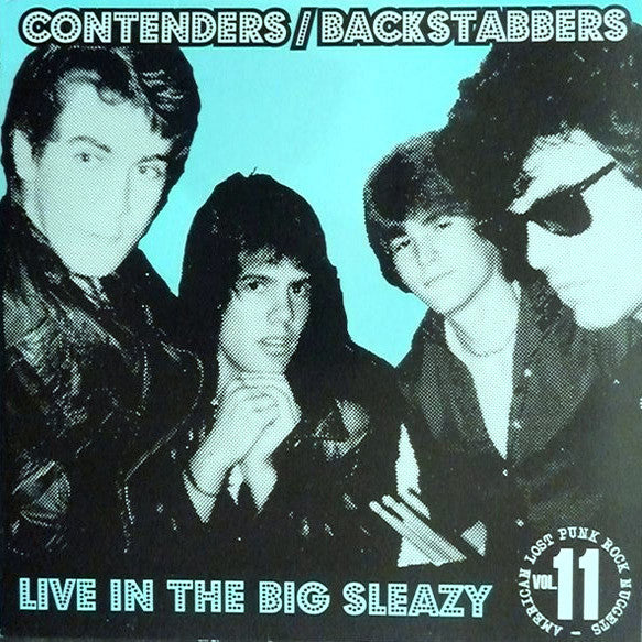 Contenders/Backstabbers - Live in the Big Sleazy LP ~REISSUE - Rave Up - Dead Beat Records