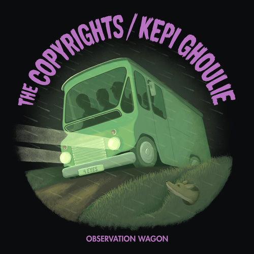 "Copyrights / Kepi Ghoulie- Split 7"" ~W/ KEVIN SECONDS!"