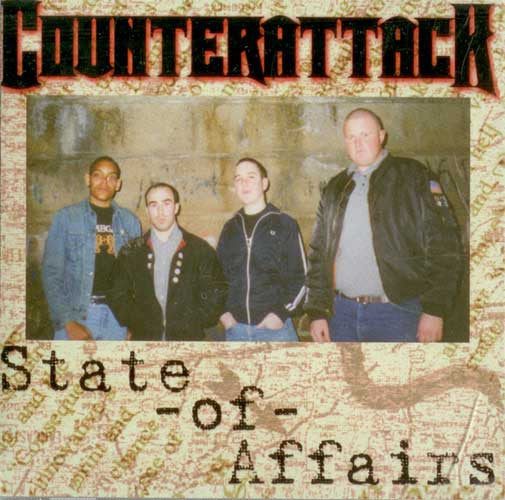 COUNTERATTACK - 'State Of Affairs' CD - Reality Clash - Dead Beat Records