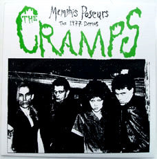 Cramps- Memphis Poseurs (The 1977 Demos) LP - Embassador - Dead Beat Records