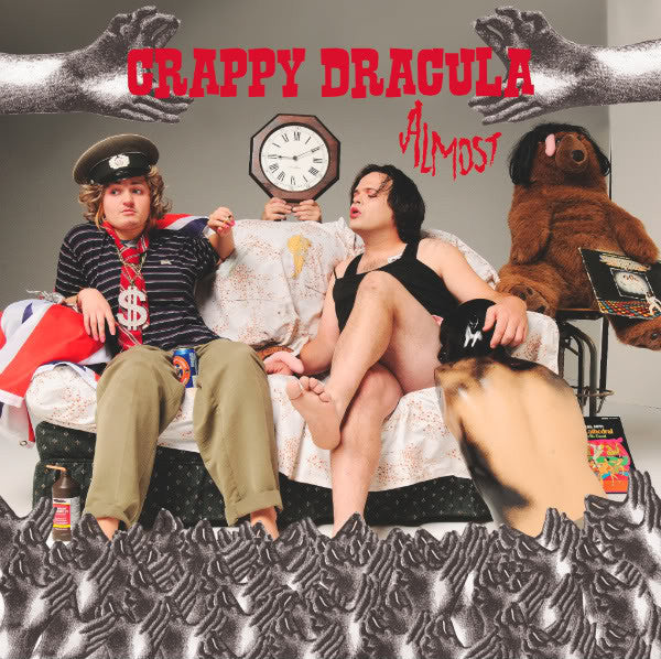Crappy Dracula- Almost LP - Feral Kid - Dead Beat Records