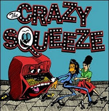 "Crazy Squeeze- Gimme A Kiss 7"" ~EX STITCHES / RICHMOND SLUTS - NO FRONT TEETH - Dead Beat Records"