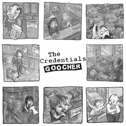 The Credentials - Goocher LP - Dirt Cult - Dead Beat Records