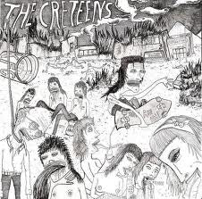 "THE CRETEENS- 'Burn Your School' 7"" - Boom Chick - Dead Beat Records"