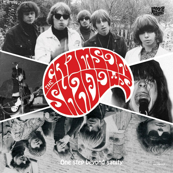 Crimson Shadows- One Step Beyond Sanity LP ~GATEFOLD COVER!