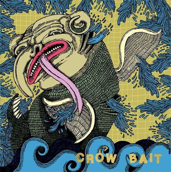 "Crow Bait- Separate Stations 7"" ~EX IRON CHIC! - Dirt Cult - Dead Beat Records"