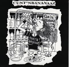 "Cunt N Bananaaz/Hope- Split 7"" ~OUT OF PRINT! - Agitate 96 - Dead Beat Records"
