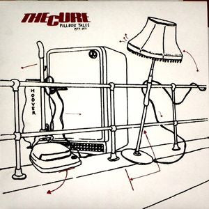 The Cure- Pillbox Tales LP - ARKAIN FILLOUX - Dead Beat Records