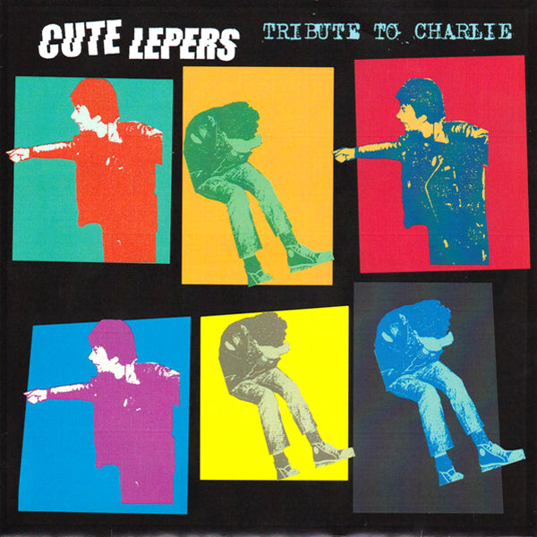 "Cute Lepers- Tribute To Charlie 7"" ~EX BRIEFS!"