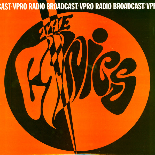 Cynics- Cast VPRO Radio Broadcast LP ~RARE RED WAX!