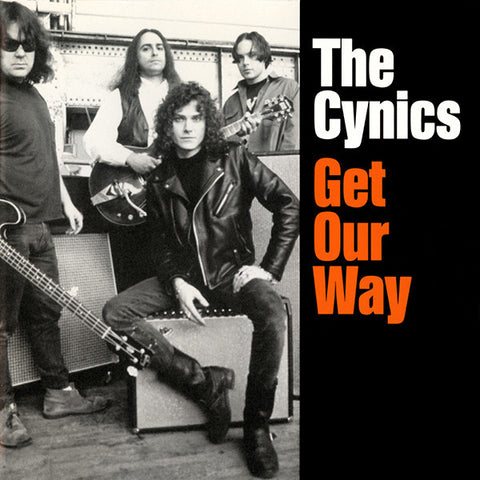 Cynics- Get Our Way LP ~RARE RED WAX!