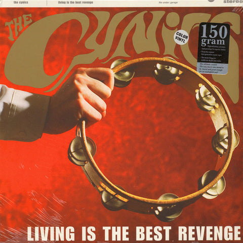 Cynics- Living Is The Best Revenge LP ~RARE RED WAX! - Get Hip - Dead Beat Records