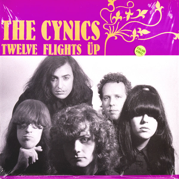 Cynics- Twelve Flights Up LP ~REISSUE / RARE CLEAR WAX!