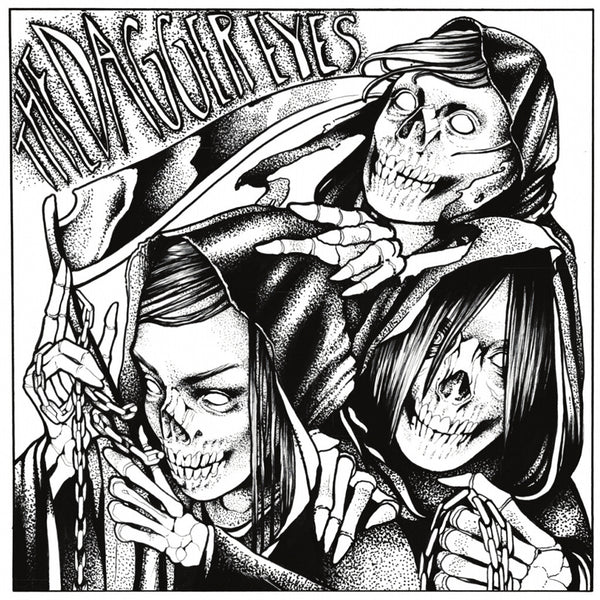 Dagger Eyes- II LP ~THE DICKIES! - Ptrash - Dead Beat Records