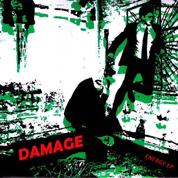"Damage- Energy 7"" - NO FRONT TEETH - Dead Beat Records"