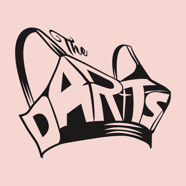 Darts- S/T LP ~RARE PINK SPLATTER WAX!