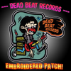 Dead Beat Records Logo Embroidered Patch