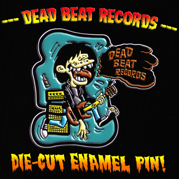 Dead Beat Records Puker Logo Enamel Pin
