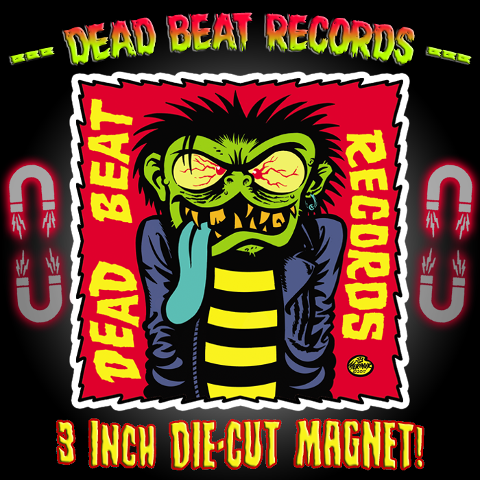 Dead Beat Records Rager Magnet