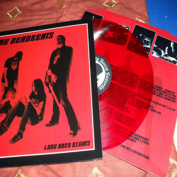 The Deadbeats- Long Hard Nights LP ~HELLACOPTERS!