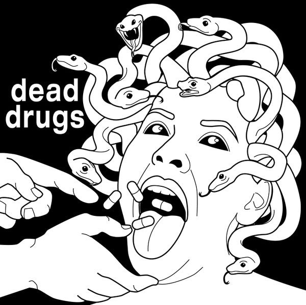 "Dead Drugs- Pillow Talk 7"" ~RARE GREEN WAX! - Manglor - Dead Beat Records"