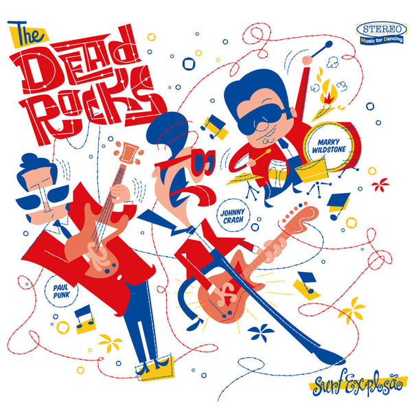 Dead Rocks- Surf Explosao LP ~MAN OR ASTROMAN! - Groovie - Dead Beat Records