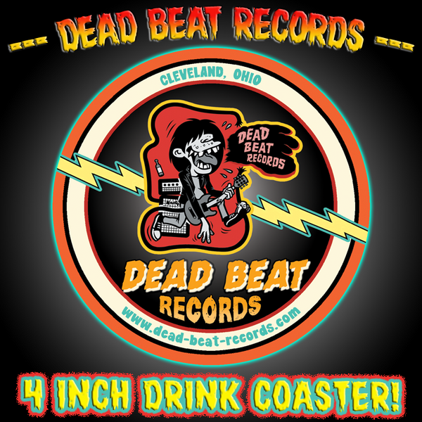 Dead Beat Records Drink Coaster