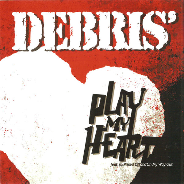 "Debris' - Play My Heart 7"" ~RARE EARLY PROTO-PUNK FROM 1975!"