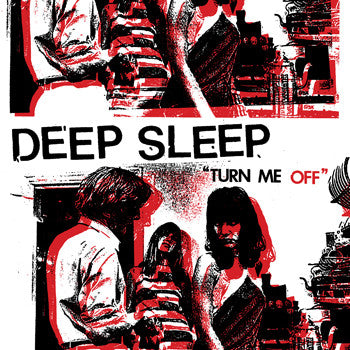 Deep Sleep- Turn Me Off LP - Grave Mistake - Dead Beat Records