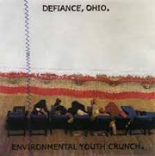 "Defiance Ohio/Environmental Youth Crunch- Split 7"" - Deadtank - Dead Beat Records"